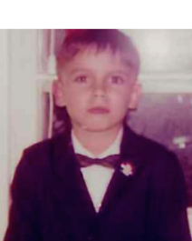 My first bow tie - age 5