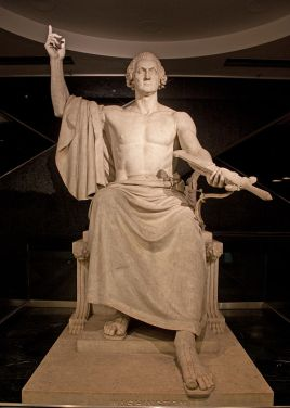 Wahington statue